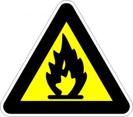 Лесно запалим материал