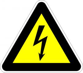 Опасност от електрически ток