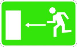 Изход спасителен маршрут