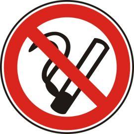 Пушенето забранено, стикер огледало 12x12