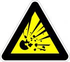 Взривоопасен материал, опасност от експлозия