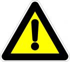 Внимание опасност